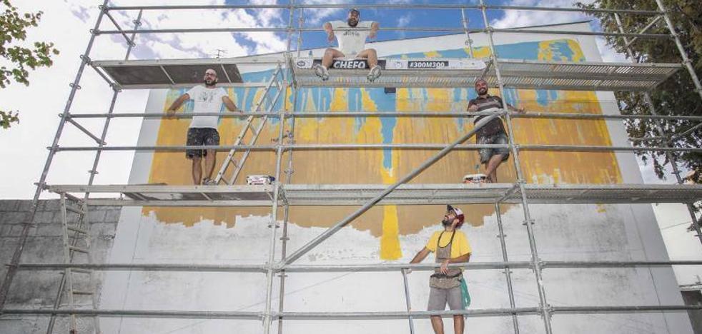 El barrio de Las Trescientas confía en el arte urbano para su revitalización