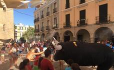 La feria de Montijo comienza el viernes con un encierro de toros hinchables