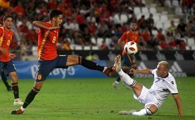 España firma con una goleada ante Albania su pase al Europeo
