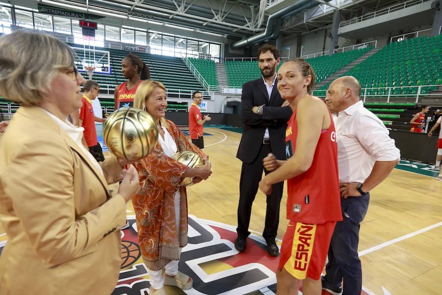 Cáceres recoge el testigo de la selección de baloncesto femenino