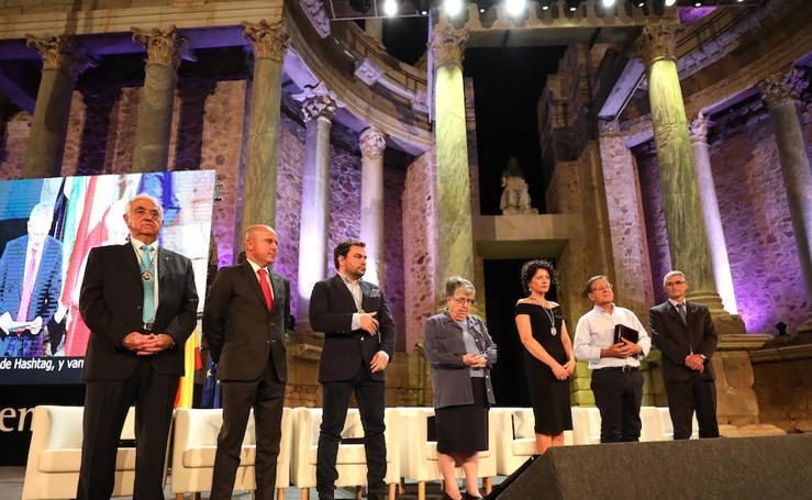 Entrega de las Medallas de Extremadura, en imágenes