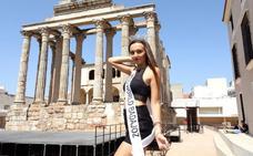 Una joven emeritense representa a Badajoz en la fase nacional de Miss Mundo