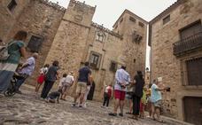 Los hoteles de Cáceres recuperan el buen ritmo de pernoctaciones y viajeros