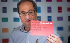 Torra llama a participar en la Diada para forzar a Sánchez a negociar un referéndum