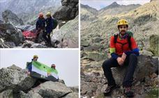 Javier le saca otra lección a la montaña