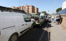 Accidente múltiple en Mérida con cuatro vehículos implicados