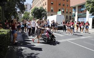 La Policía Local de Cáceres clausura dos fiestas universitarias por carecer de permiso