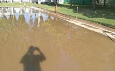 Las piscinas municipales de Jaraíz adelantan el cierre por los daños tras el temporal