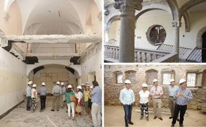La reforma de la Casa Pereros saca a la luz elementos ocultos del edificio