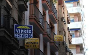 La compraventa de viviendas se dispara un 23,8% en julio en Extremadura, hasta las 651