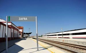 Los trenes no circularán entre Zafra y Llerena desde mañana hasta el día 27