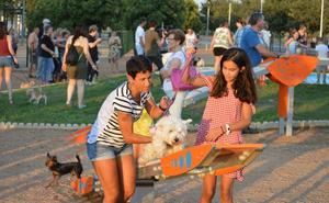 Acometen mejoras en el parque canino de Villanueva de la Serena