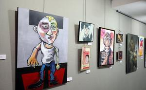 Exponen en Mérida las obras de los premios JABA
