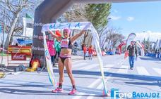 Mercedes Pila, en el Mundial de Ultra Trail