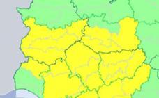 La alerta por tormentas y granizo se amplía a toda la provincia de Badajoz