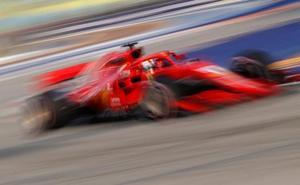 Vettel flaquea antes de la batalla