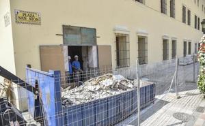 Arranca la obra para convertir el Hospital Provincial de Badajoz en un mercado gourmet