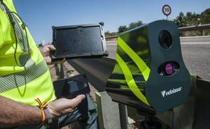 Los 'veloláser' ya multan en Extremadura