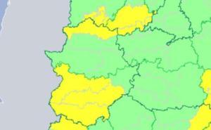 Alerta por tormentas en el norte de Cáceres y gran parte de la provincia de Badajoz