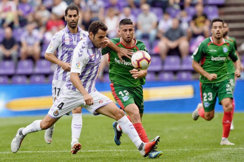 Ibai Gómez amarga el estreno de Ronaldo en Zorrilla