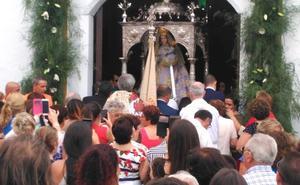 Animación y buen ambiente en la Feria de la Virgen de las Nieves