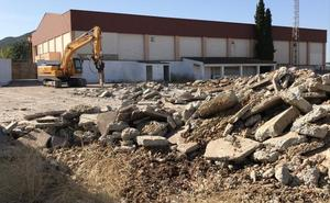 El inicio del curso en La Zarza coincide con el de las obras de construcción del nuevo colegio