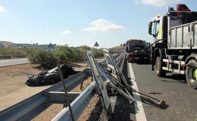 Un accidente dificulta el tráfico en la A-66 a la altura de Monesterio