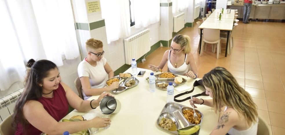 La residencia del instituto Bótoa acoge a estudiantes de los pueblos