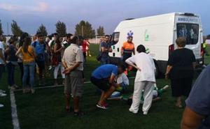 Agreden a un jugador del Valverdeño tras el partido en Valdelacalzada