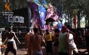 Investigan a tres jóvenes por venta de drogas en un festival de música en La Codosera
