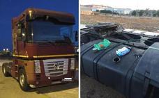 La Policía Local de Badajoz recupera la cabeza tractora de un camión robada en Talavera