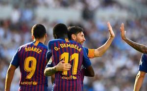 Dembélé, un socio ideal para Messi