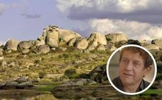 Pedro Casablanc rueda el corto 'La Higuera' en Garrovillas y Los Barruecos