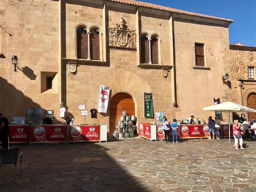 Los vecinos de la parte antigua de Cáceres elegirán los festivales más cívicos por votación