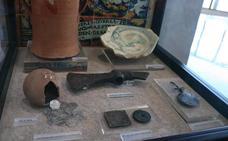 Muestra del museo arqueológico