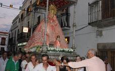 La Virgen del Prado pasará por varias calles a su llegada a Casar de Cáceres este jueves