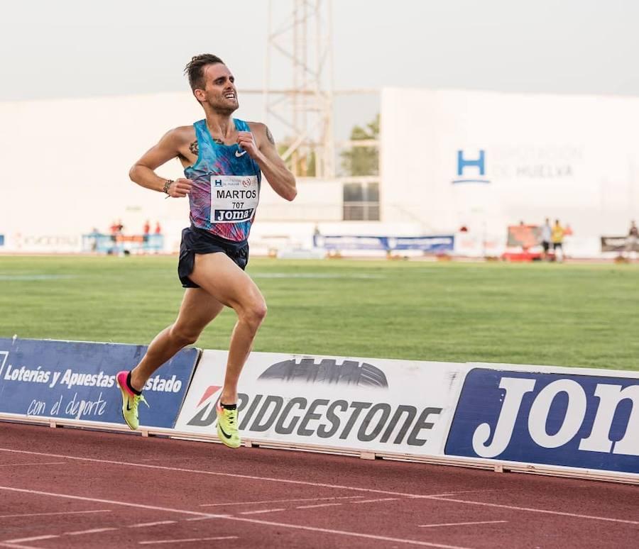 El olímpico Sebas Martos elige Badajoz para preparar los Juegos de Tokio