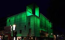 Edificios 'vestidos' de verde en Don Benito
