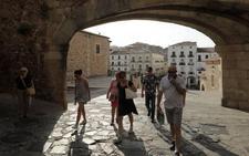 Cáceres saca pecho con su verano turístico: 57.594 visitantes más