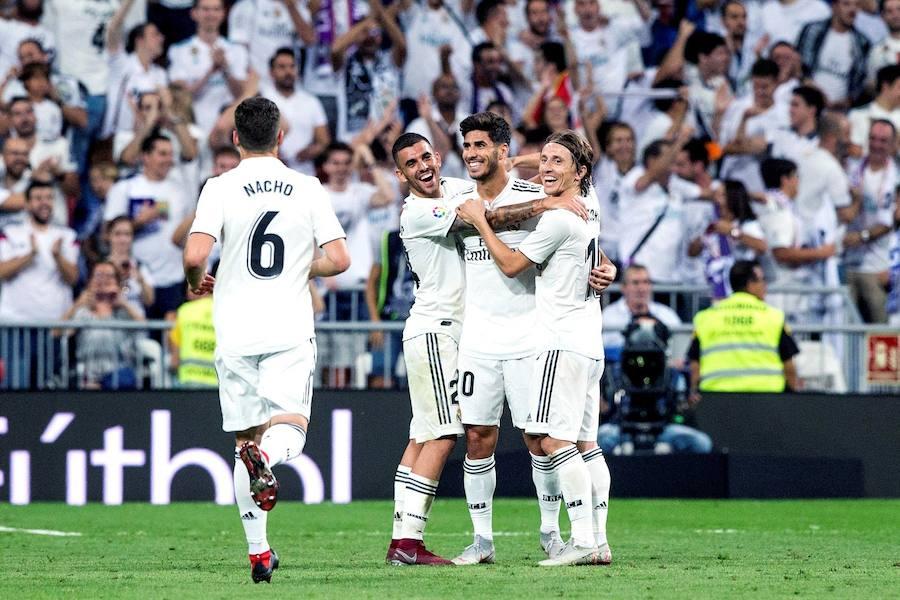 El Real Madrid- Espanyol, en imágenes