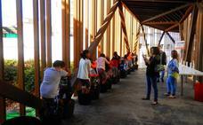 800 escolares aprenden en los talleres de vendimia del Museo