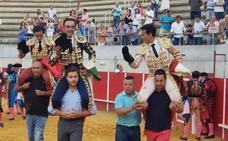 Puerta grande para El Cid, Puerto y Galdós en Llerena