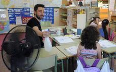 Alumnos de Badajoz protestarán si no hay soluciones inmediatas frente al calor en las aulas
