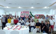 Visita de Iríbar a la Peña Serona del Athletic