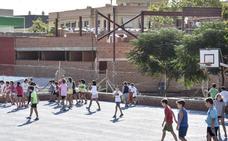 El colegio público San José de Calasanz estrenará gimnasio y pista en febrero