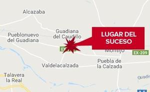 Una mujer de 42 años resulta herida grave tras caer de un caballo en Guadiana del Caudillo
