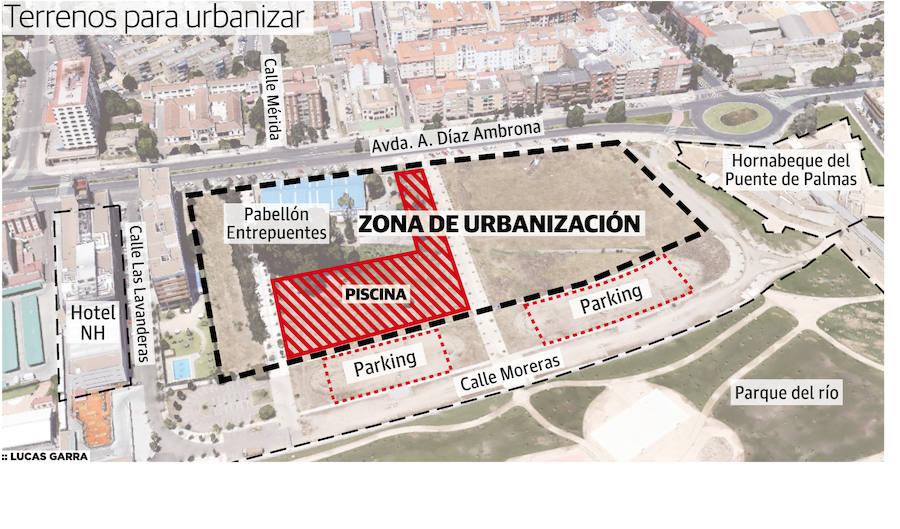 Terrenos para urbanizar junto al Puente de Palmas