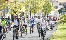 El Día de la Bicicleta de Badajoz cambia su recorrido para mostrar paisajes y monumentos
