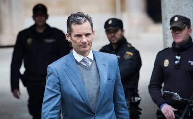 El Supremo rechaza el intento de Urdangarin de anular su sentencia