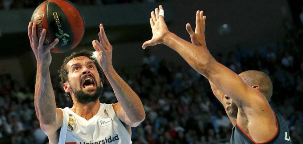 El Madrid, rival a batir en una liga sin Navarro ni Doncic